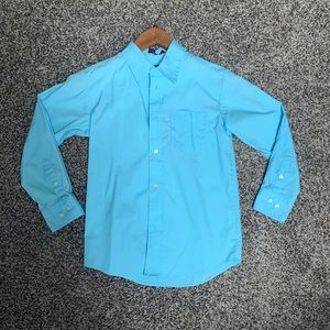 Chaps Size 10 Boys Long Sleeved Button Down